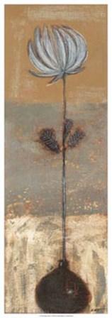 Solitary Flower I by Norman Wyatt Jr. art print