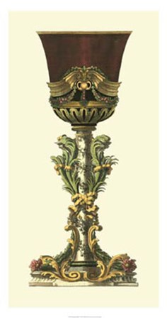 Elongated Goblet I by Giovanni Giardini art print