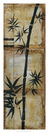 Patinaed Bamboo II by Jennifer Goldberger art print
