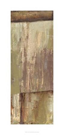 Rustic Earth I by Jennifer Goldberger art print