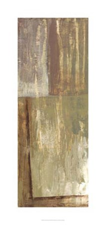Rustic Earth II by Jennifer Goldberger art print