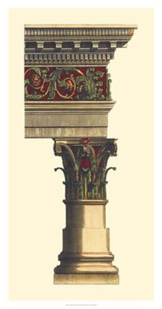 Column & Cornice II by Vision Studio art print