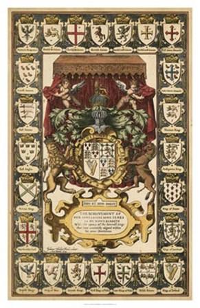 Armes of Kings art print