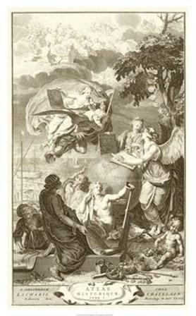 Atlas Historique by Bernard Picart art print