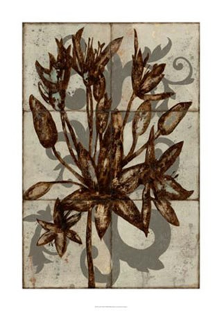 Rustic Allium by Jennifer Goldberger art print