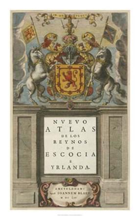 Nuevo Atlas by Johannes Blaeu art print