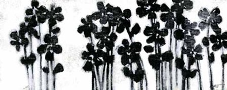 Black Flowers on White I by Norman Wyatt Jr. art print
