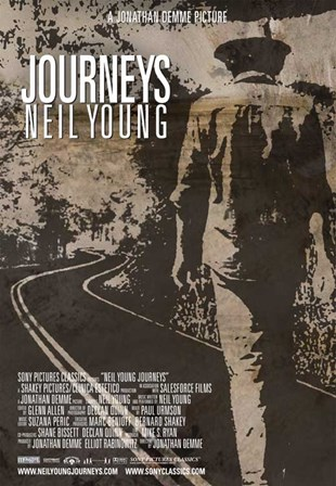 Neil Young Journeys art print