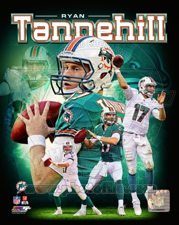 Ryan Tannehill 2012 Portrait Plus art print