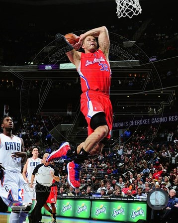 Blake Griffin 2012-13 Action art print