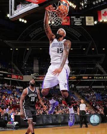 DeMarcus Cousins 2012-13 Action art print
