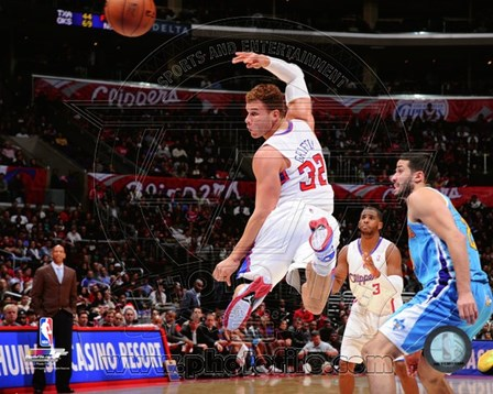 Blake Griffin 2012-13 Basketball art print