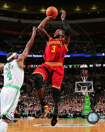 Dion Waiters Shooting The Basketball art print