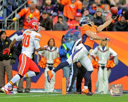 Eric Decker 2012 Action art print