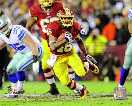 Alfred Morris 2012 Action On The Run art print