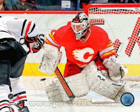 Miikka Kiprusoff 2012-13 Action art print