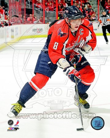 Alex Ovechkin 2012-13 Action art print