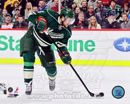 Dany Heatley 2012-13 Action art print