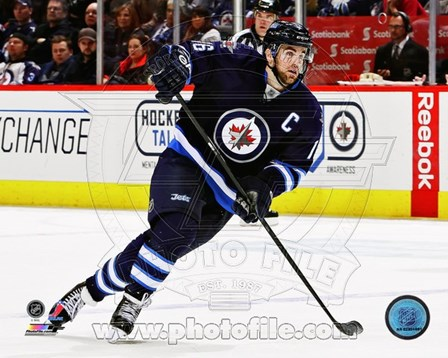 Andrew Ladd 2012-13 Action art print