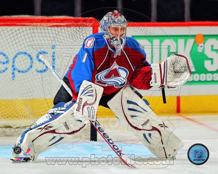 Semyon Varlamov 2012-13 Goalie art print