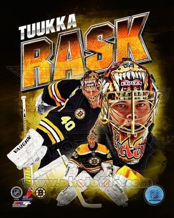 Tuukka Rask 2013 Portrait Plus art print