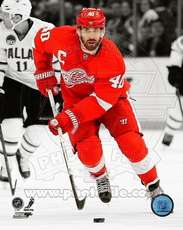 Henrik Zetterberg 2012-13 Spotlight Action art print