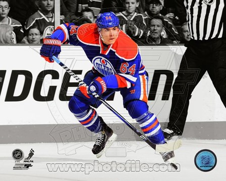 Nail Yakupov 2012-13 Spotlight Action art print