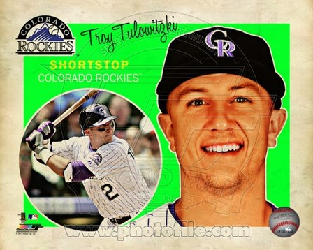 Troy Tulowitzki 2013 Studio Plus art print