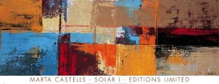 Solar I by Marta Castells art print