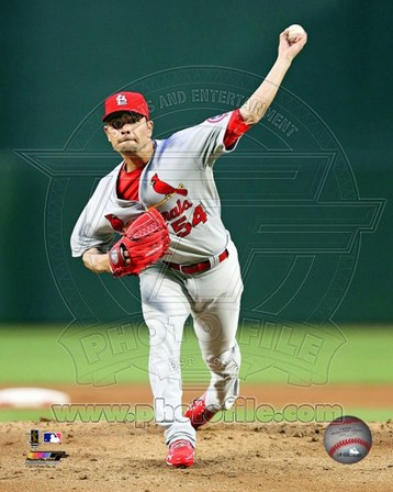 Jaime Garcia 2013 Action art print