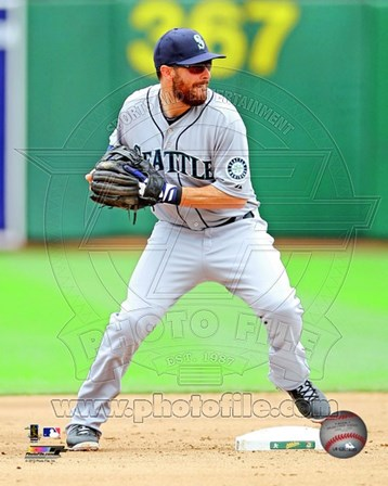Dustin Ackley Baseball Pitching Action art print