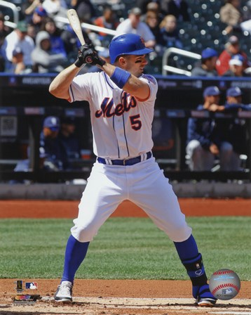 David Wright 2013 New York Mets art print
