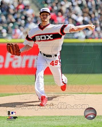Chris Sale 2013 Chicago White Sox art print