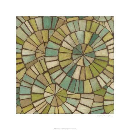 Kaleidoscopic Sea II by Megan Meagher art print
