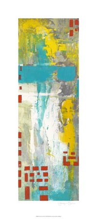 Data Sets I by Jennifer Goldberger art print