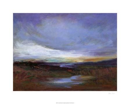 Coastal Wetlands by Sheila Finch art print