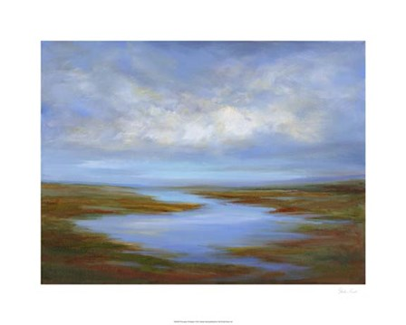 Pescadero Wetlands by Sheila Finch art print