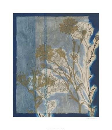 Santorini Floral I by Megan Meagher art print