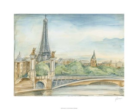 Parisian View by Ethan Harper art print