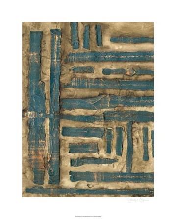 Maze II by Jennifer Goldberger art print