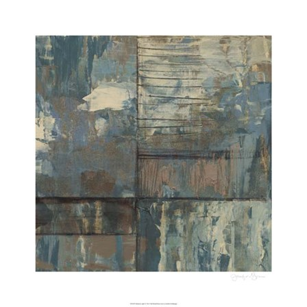 Dusk & Light I by Jennifer Goldberger art print