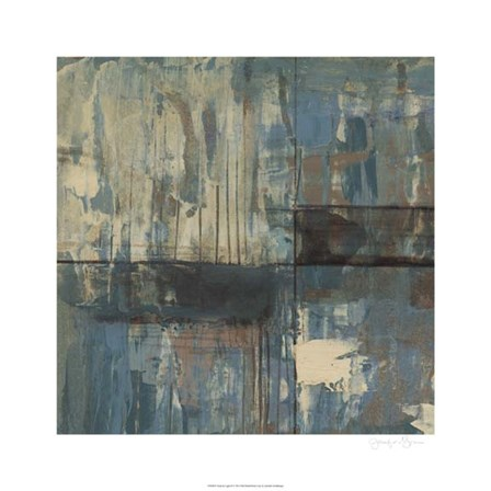 Dusk & Light II by Jennifer Goldberger art print