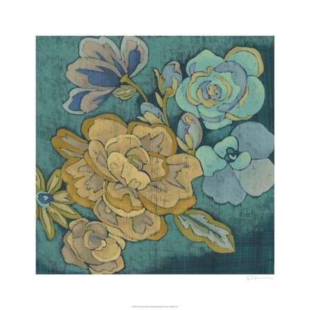 Trousseau Chintz I by Chariklia Zarris art print