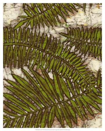 Batik Frond I by Andrea Davis art print