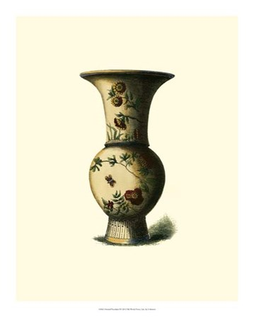 Oriental Porcelain I art print