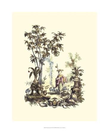 Oriental Garden II art print