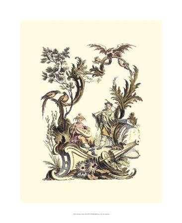 Oriental Garden III art print
