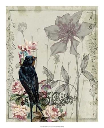 Mauve Melody IV by Jennifer Goldberger art print