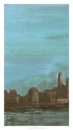 Manhattan Triptych I by Alicia Ludwig art print