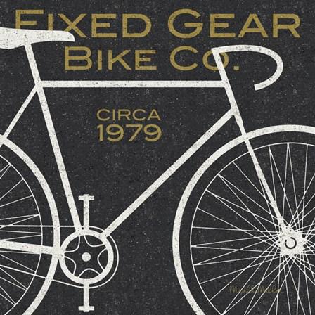 Fixed Gear Bike Co. by Michael Mullan art print